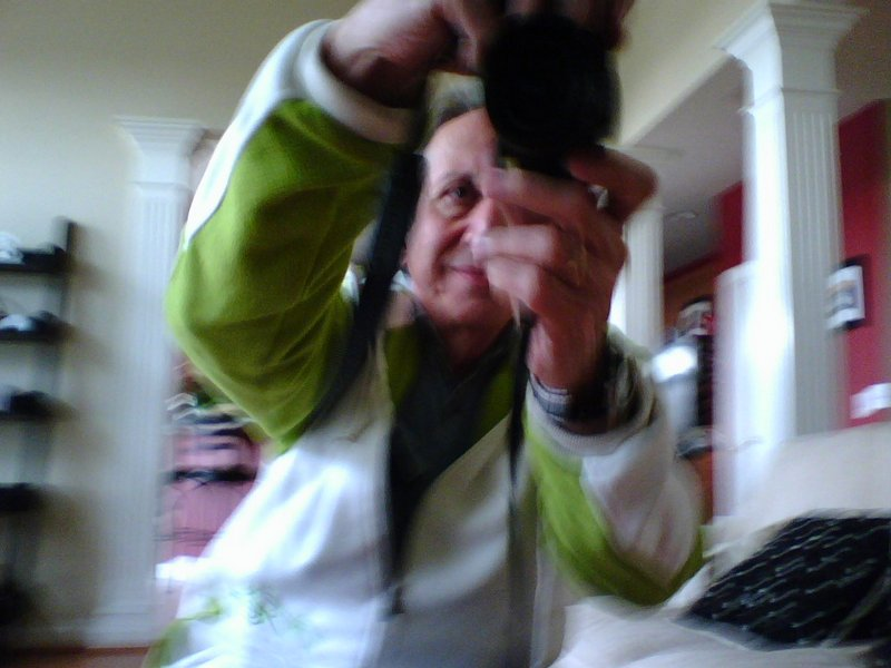 - This is a picture I took of Grandpa. I took this with his cameraphone. - Pictures taken by my granddaughter - - art  - photography - by Tony Karp