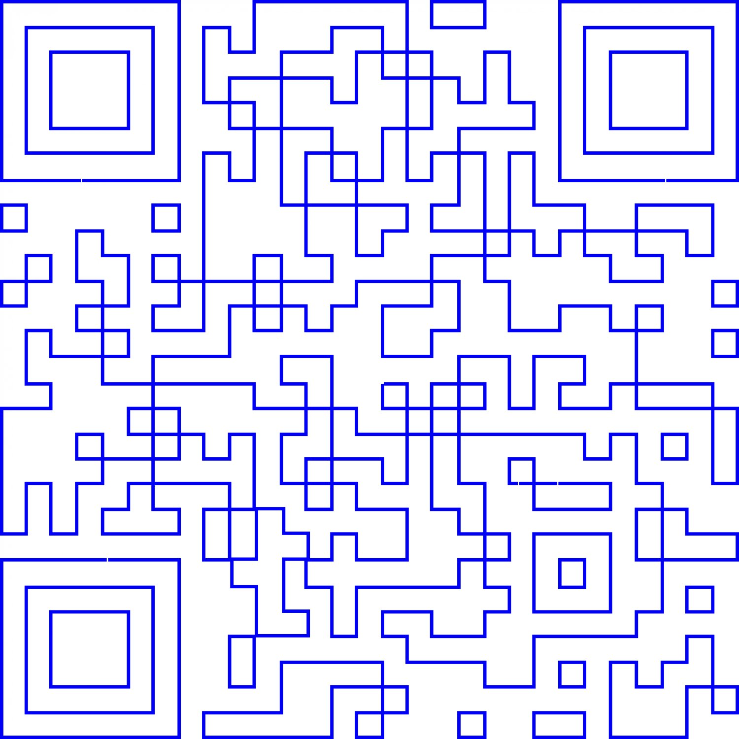- A minimalist QR code. Only the outlines remain, -  - Art and the Zen of QR Codes - QaRt - making art from QR codes. - Tony Karp, design, art, photography, techno-impressionist, techno-impressionism, aerial photography , drone , drones , dji , mavic pro , video , 3D printing - Books -