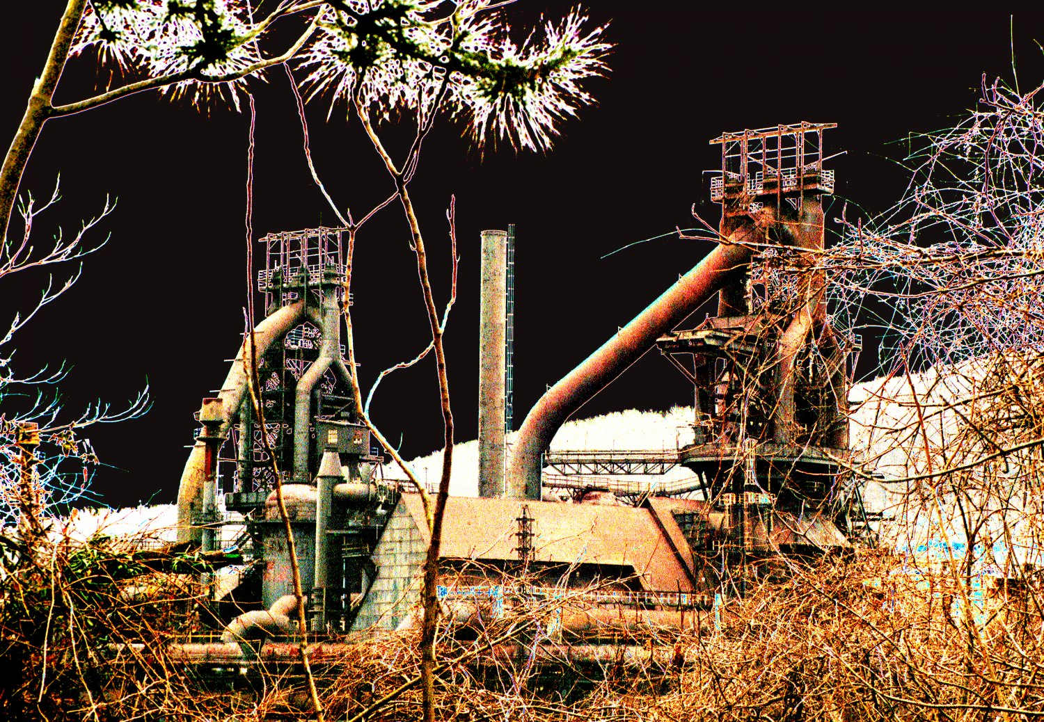 - Abandoned steel mills in Bethlehem, PA show how far manufacturing has declined in America. - Tony Karp, design, art, photography, techno-impressionist, techno-impressionism, aerial photography , drone , drones , dji , mavic pro , video , 3D printing - Books -