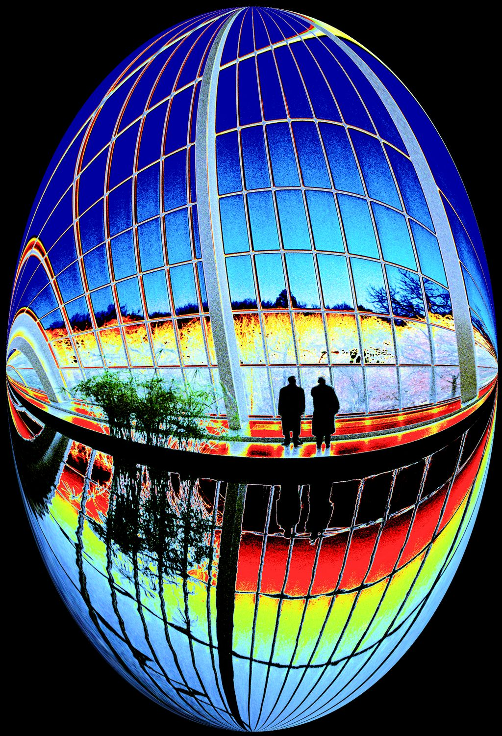 - Reagan and Gorbachev at the temple of Dendur -  Tony Karp's Bubble Pictures - From 1959 to 2013 - Tony Karp, design, art, photography, techno-impressionist, techno-impressionism, aerial photography , drone , drones , dji , mavic pro , video , 3D printing - Books -