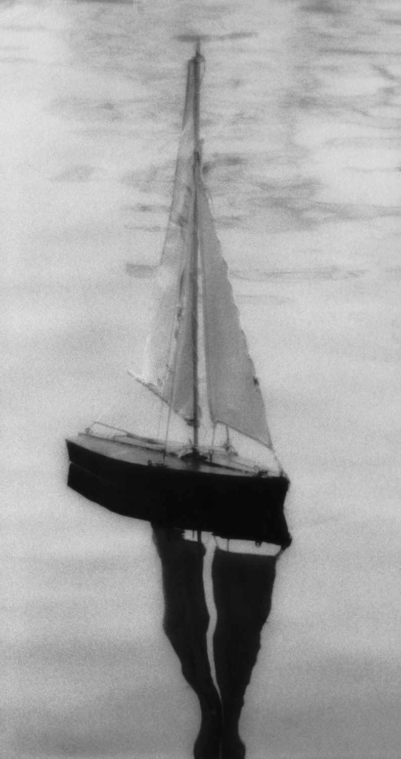 sailboat - Illustrating a story about finding inner peace. - Photojournalism - Life Magazine - Black and white photography - Canon rangefinder and SLR cameras - Tony Karp, design, art, photography, techno-impressionist, techno-impressionism, aerial photography , drone , drones , dji , mavic pro , video , 3D printing - Books -