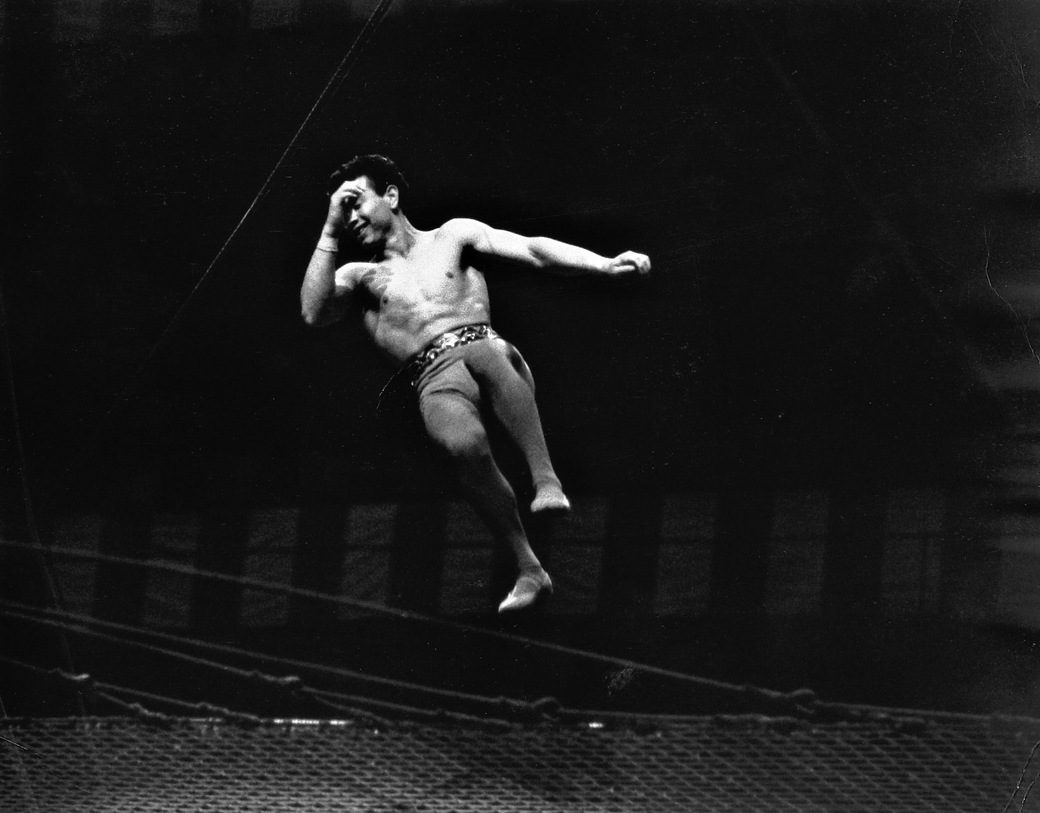 - Not to worry. I think they do this on purpose, to create a little drama and suspense. - Leo Stashin. Circus, Ringling Bros. Barnum and Bailey, Madison Square Garden, tightrope, trapeze. Alzana, black and white - Tony Karp, design, art, photography, techno-impressionist, techno-impressionism, aerial photography , drone , drones , dji , mavic pro , video , 3D printing - Books -