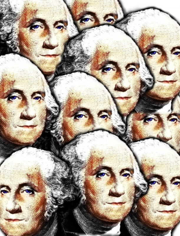A cavalcade of George Washingtons - But seriously, folks... - Tony Karp, design, art, photography, techno-impressionist, techno-impressionism, aerial photography , drone , drones , dji , mavic pro , video , 3D printing - Books -