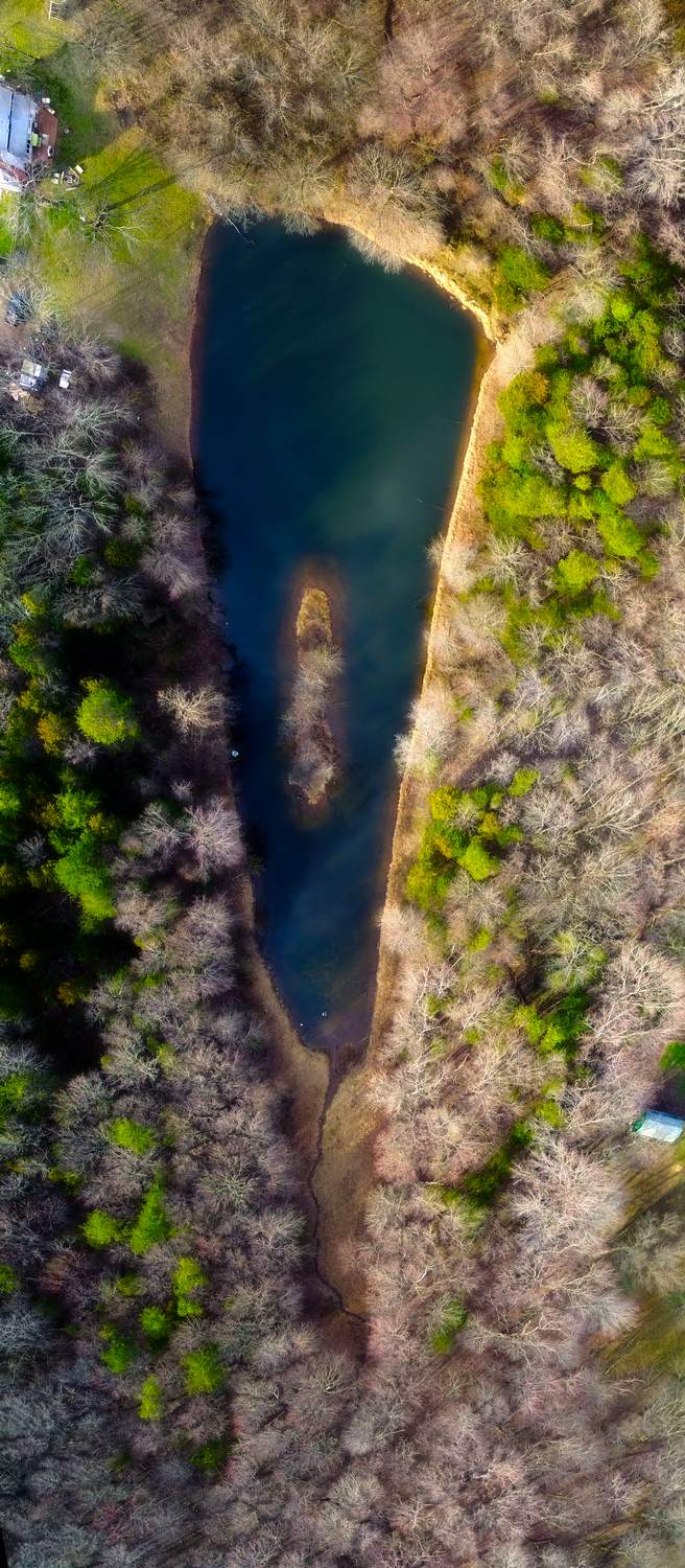 - This is the same lake, but at different time of day, with different lighting. - Tony Karp, design, art, photography, techno-impressionist, techno-impressionism, aerial photography , drone , drones , dji , mavic pro , video , 3D printing - Books -