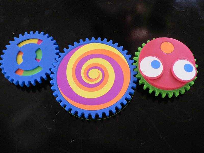 - These are some gears that Grandpa gave me. - Pictures taken by my granddaughter - - art  - photography - by Tony Karp