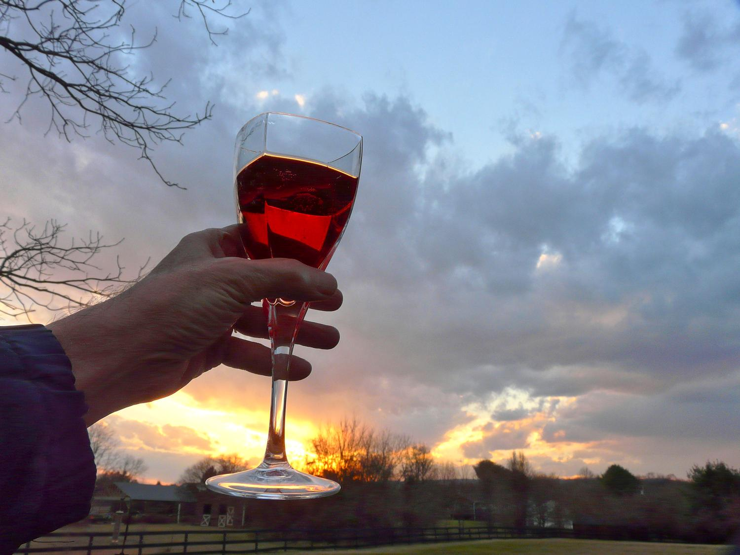 champagne sunset - A toast to the artist's muse - - art  - photography - by Tony Karp