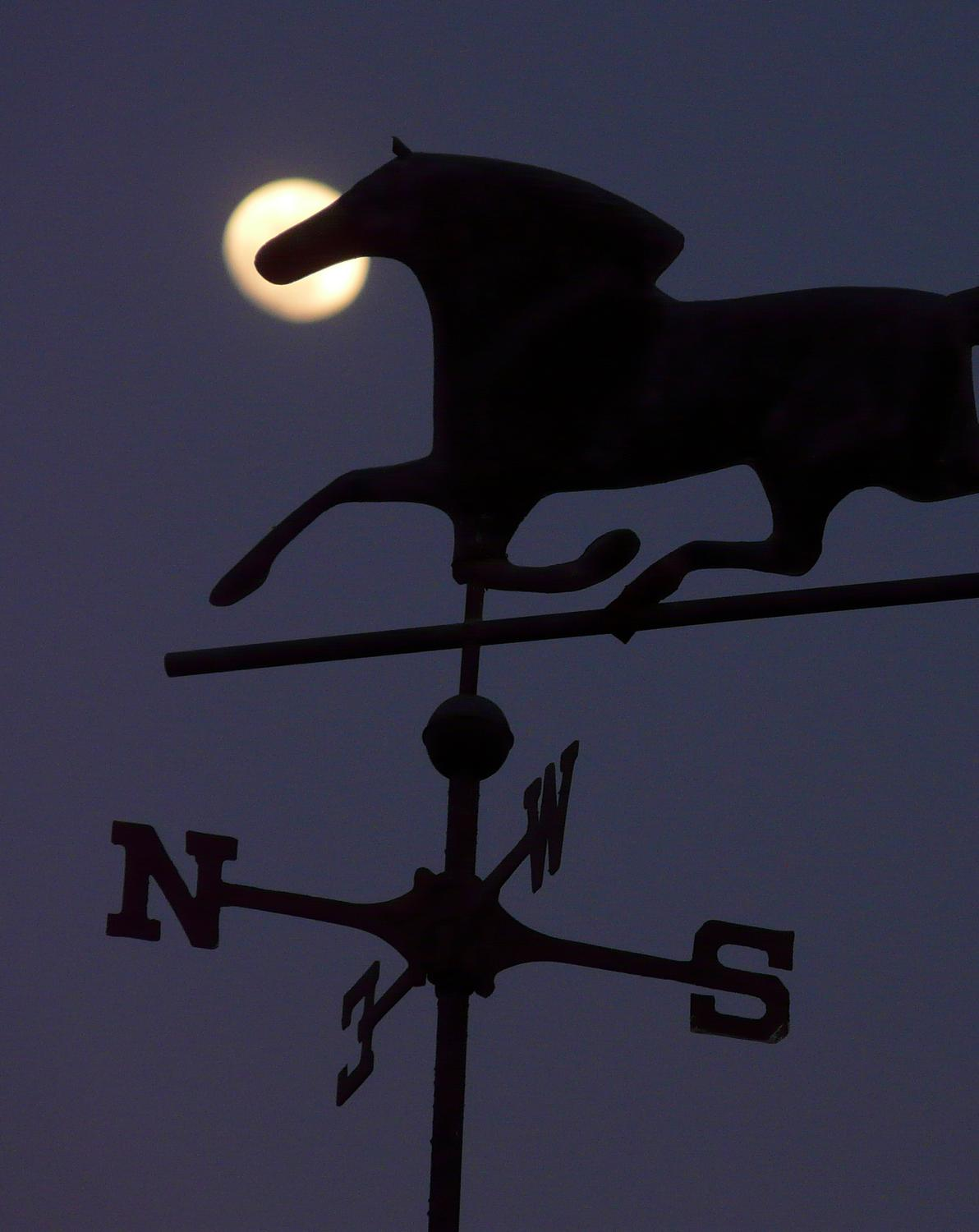 Moon and weathervane - A tribute to the Apollo 11 astronauts - Tony Karp, design, art, photography, techno-impressionist, techno-impressionism, aerial photography , drone , drones , dji , mavic pro , video , 3D printing - Books -