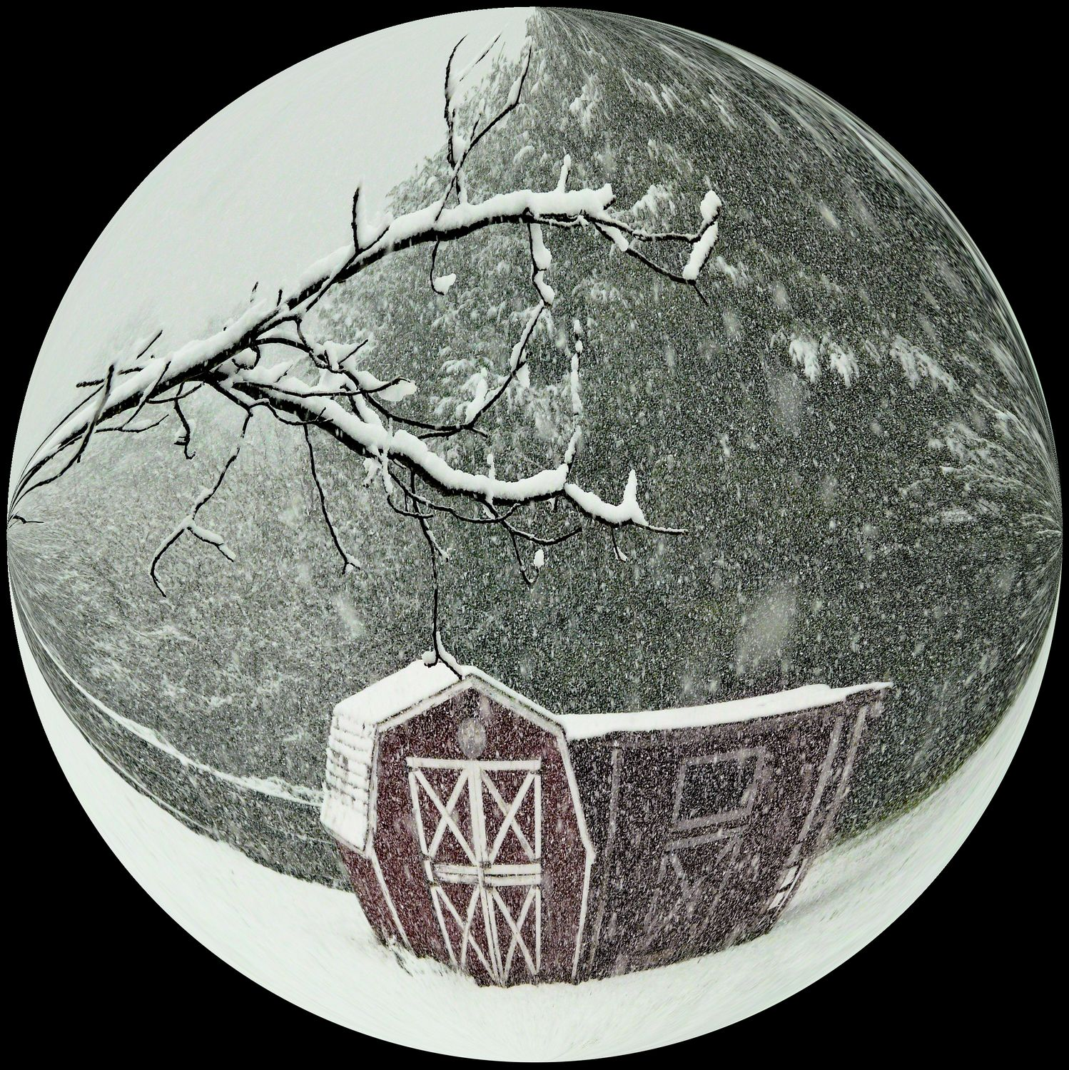 - Snow globe in a bubble -  Tony Karp's Bubble Pictures - From 1959 to 2013 - Tony Karp, design, art, photography, techno-impressionist, techno-impressionism, aerial photography , drone , drones , dji , mavic pro , video , 3D printing - Books -