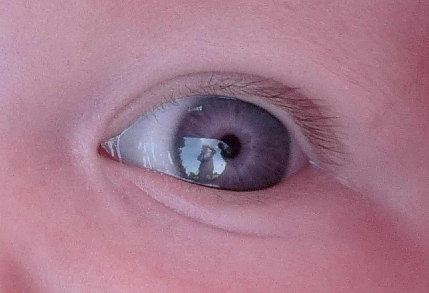 - Self portrait in a baby's eye - Panasonic DMC-FZ28 - 100% crop - Tony Karp, design, art, photography, techno-impressionist, techno-impressionism, aerial photography , drone , drones , dji , mavic pro , video , 3D printing - Books -