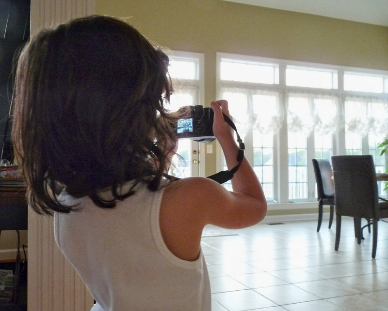 - This is another picture of me taking pictures. - Pictures taken by my granddaughter - - art  - photography - by Tony Karp