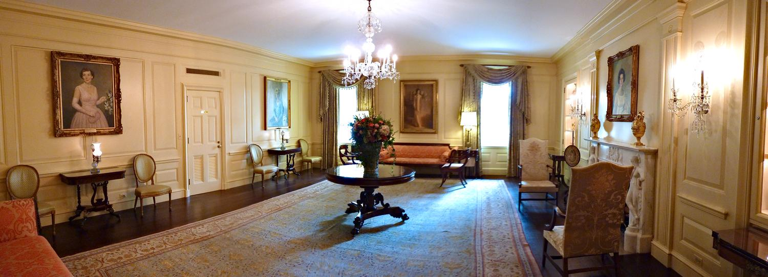 - This is one of the rooms on the Ground Floor of the White House. It's filled with portraits of former first ladies. - Panasonic DMC-FZ35 - White House = President Barak Obama - Tony Karp, design, art, photography, techno-impressionist, techno-impressionism, aerial photography , drone , drones , dji , mavic pro , video , 3D printing - Books -